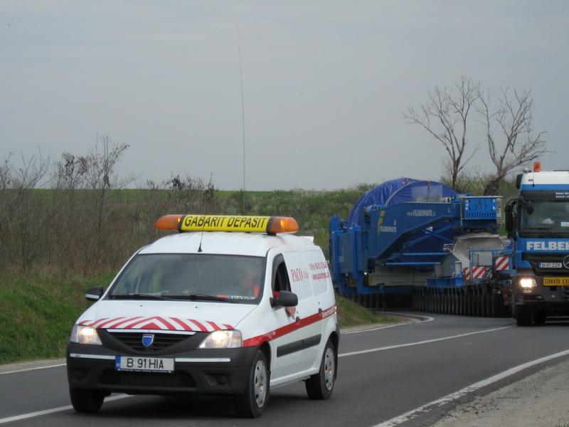 Transport agabaritic pe ruta Nădlac II PTF – Mihail Kogălniceanu