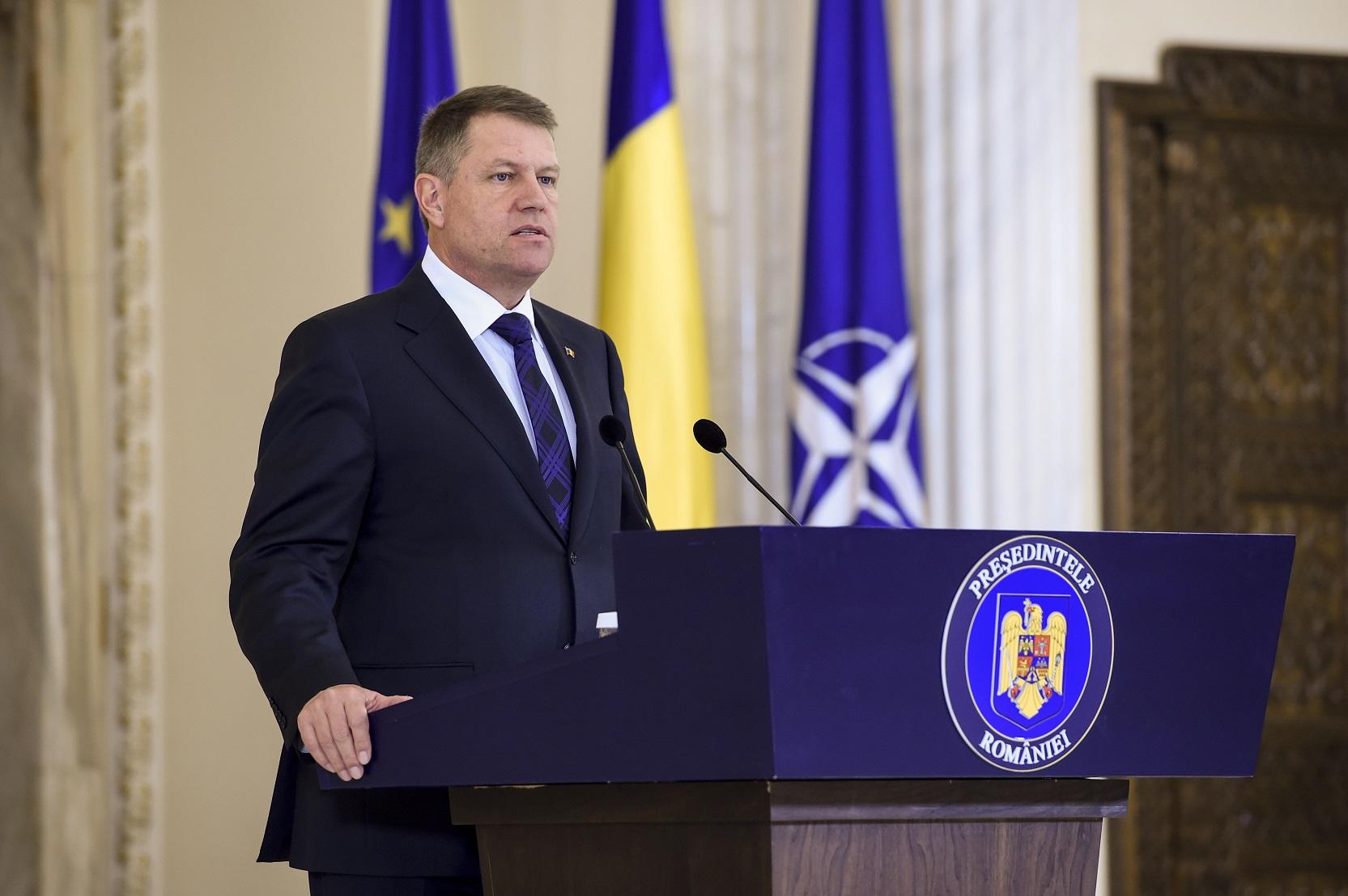 Decrete semnate de Președintele României, Klaus Iohannis