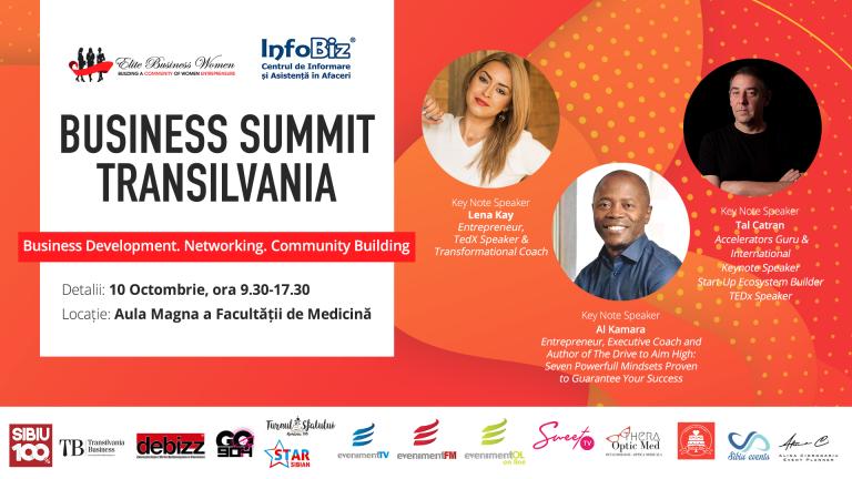 Transilvania Business Summit: Transilvania antreprenorială, o nouă abordare, o voce unitară!