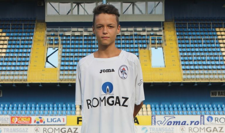 Fotbalist mediesean, convocat la Nationala U 15 a Romaniei