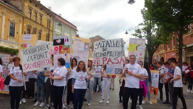 SIBIU – 31 MAI, ZIUA MONDIALĂ FĂRĂ TUTUN