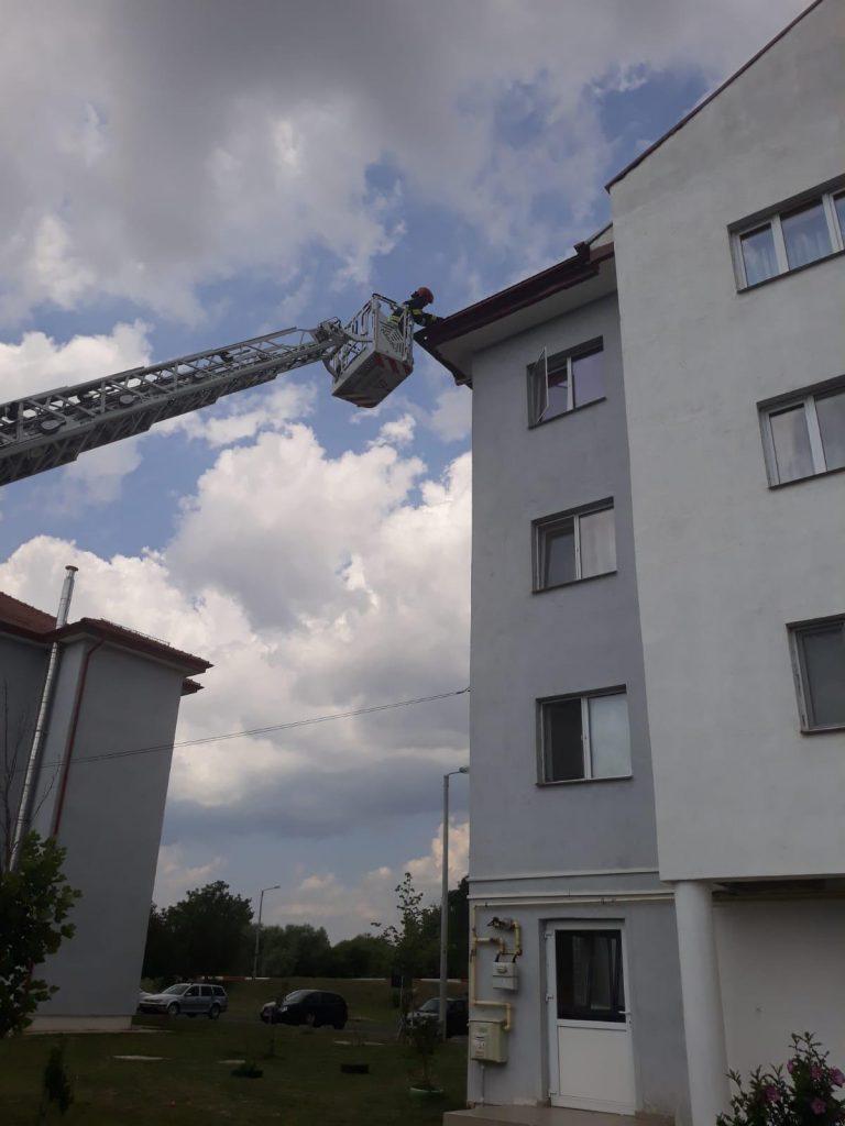 SIBIU – Intervenţie ISU Sibiu