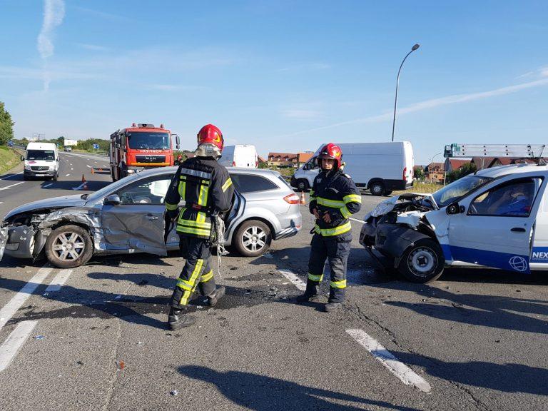 SIBIU – Accident rutier pe DN 1