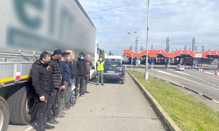 Șase sirieni și cinci afgani depistați la frontiera de vest