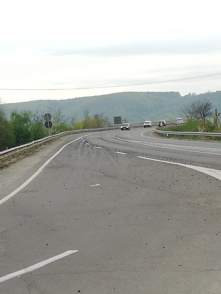 SIBIU – DN 1, in zona km. 283+500, Avrig, trafic ingreunat
