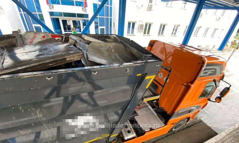 Peste 33 tone de deșeuri descoperite la ITPF Giurgiu, în ultimele 24 de ore
