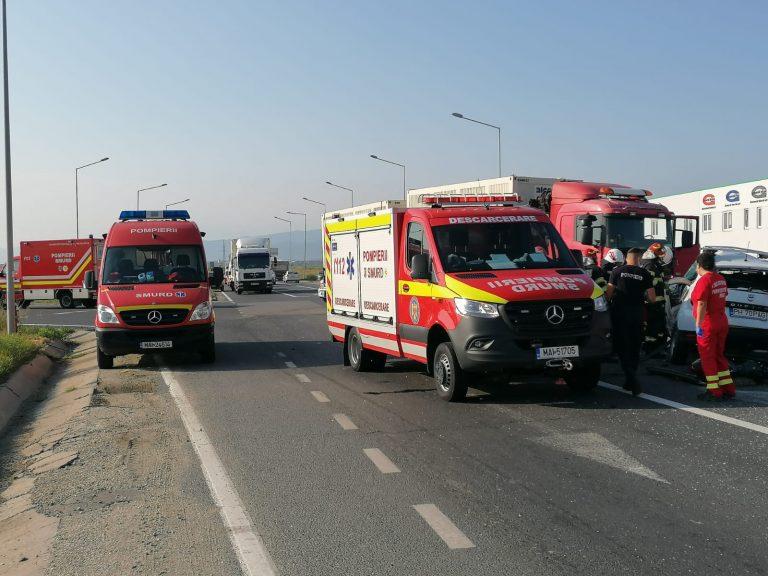 SIBIU – Accident de circulaţie. Conform IJP, 4 persoane au decedat – VIDEO – ACTUALIZARE