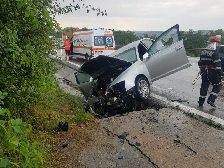 VÂLCEA – Accident rutier pe DN7
