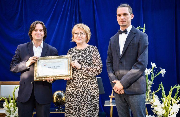 """Gabriel Bebeșelea, Ambasador onorific al Sibiului. """"Mulțumesc în primul rând orașului pentru că mi-a oferit șansa să fac parte din această cultură"""""""