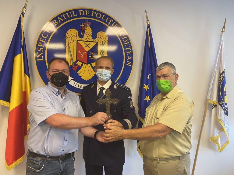 SIBIU – VALOROS OBIECT DE PATRIMONIU,RECUPERAT DE POLIȚIȘTI