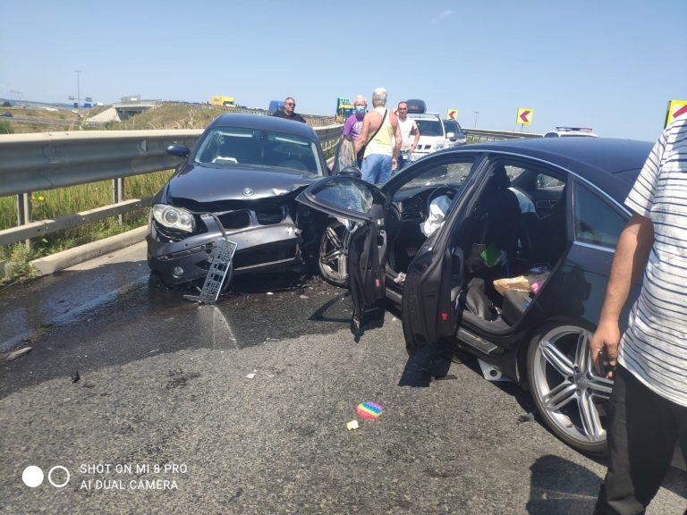 SIBIU – Accident pe DJ 106B