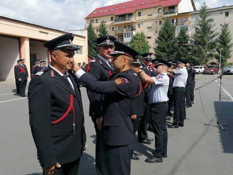 SIBIU – Avansări în grad la ISU Sibiu